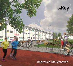 impressie startblok riekerhaven